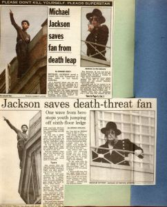 MJ saving fan