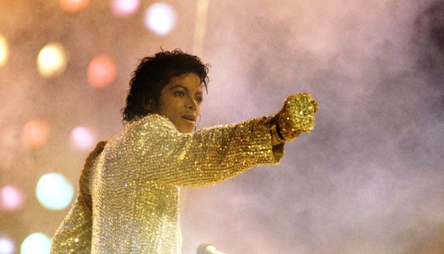 Michael Jackson in Buffalo, New York on August 26,1984.