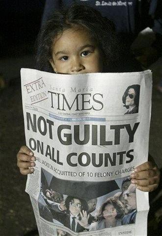 Μάικλ Τζάκσον αθώος