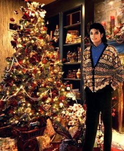 MichaelJacksonXmastree