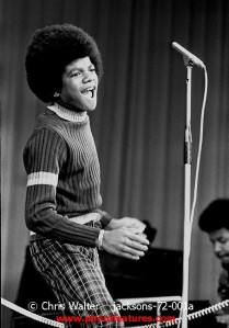 1972 Michael Jackson at Royal Command Performance at the London Palladium � Chris Walter Jacksons