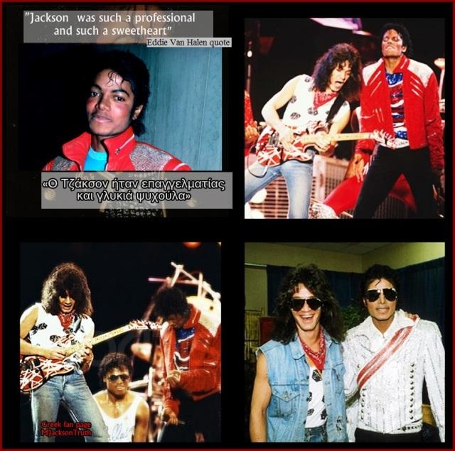 Michael Jackson Van Halen MJacksonTruth