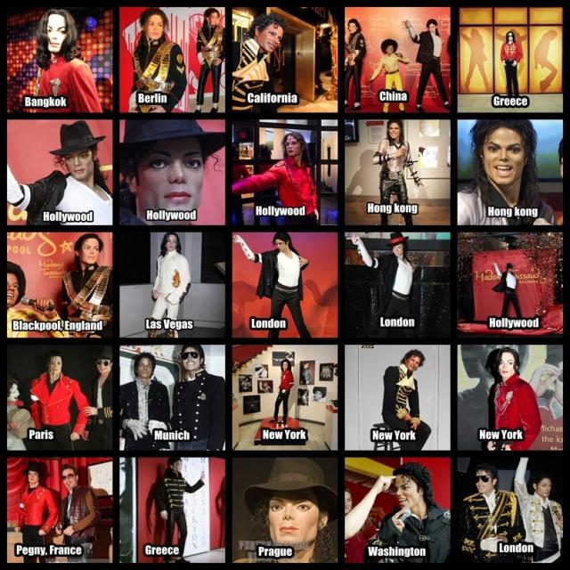 Μάικλ Τζάκσον κέρινα ομοιώματα