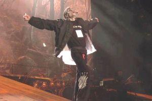 Ο Μάικλ Τζάκσον στην τελευταία του πρόβα για την τελευταία του τουρνέ This is It στις 24 Ιουνίου 2009