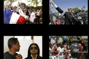Michael Jackson trial victory day