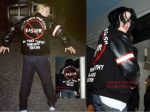 Michael fan jacket bashir