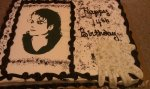 Michael Jackson birthday cake 3