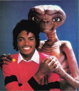 Michael Jackson ET extra terrestrial