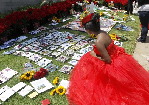Michael Jackson fan 25th June 2015 Forest Lawn