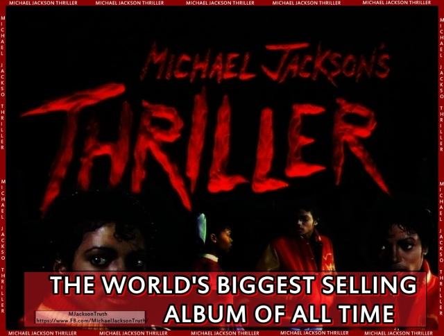 Michael Jackson biggest selling album THRILLER