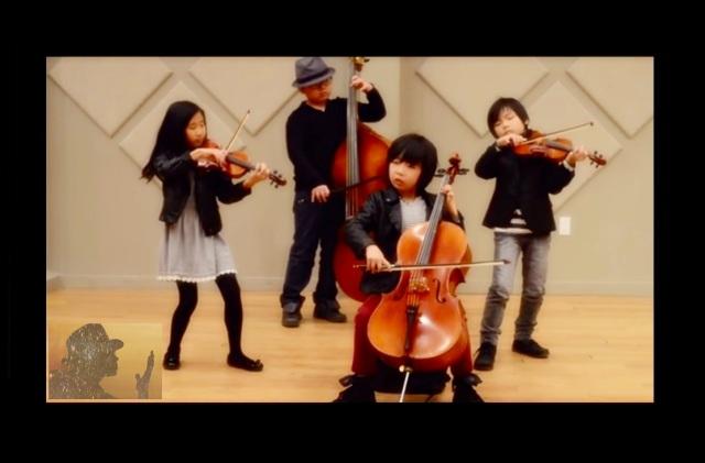 Michael Jackson The Joyous String Quartet