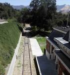 σιδηροδρομικές γραμμές για το τρενάκι της Νέβεράντ