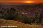 Ηλιοβασίλεμα στην ευρύτερη περιοχή. Η Νέβερλαντ βρίσκεται πίσω από τα δέντρα στ'αριστερά της φωτογραφίας