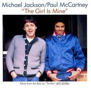 The girl is mine Michael Jackson Paul Mccartney
