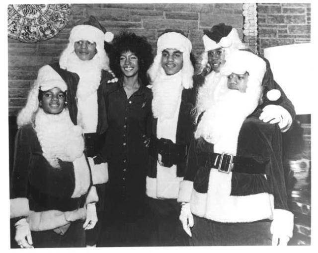 32dec 1972 Michael Jackson Christmas party held at the Pacific Townclub with Mary Wilson