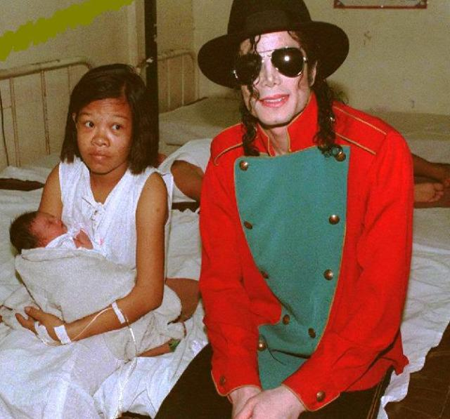 Michael Jackson 5 December 1996 Philippines