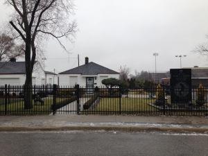 Michael Jackson house Gary Indiana