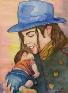 Δημιουργία θαυμαστή Μάικλ Τζάκσον για το μικρό Σύριο Αιλάν