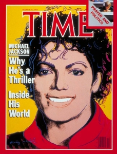 Michael Jackson TIME magazine cover 1984
