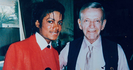 Michael Jackson Fred Astaire