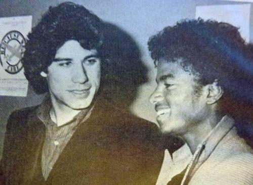 Michael Jackson John Travolta Studio 54