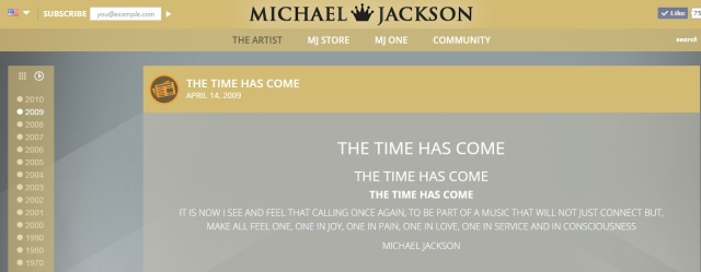 Michael Jackson Onthisday 14 april 2009