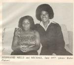 Michael Jackson Stephanie Mills Studio 54 June 1977