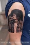 Michael Jackson tattoo Bad era