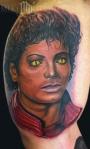 Michael Jackson tattoo Thriller 2