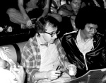 Woody Allen and Michael Jackson at the Studio 54 in New York City, New York (Photo by Ron Galella/WireImage)