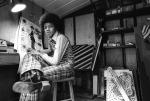 Ο Μάικλ Τζάκσον στο δωμάτιό του ζωγραφίζοντας τον Τσάρλι Τσάπλιν