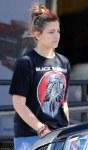 Paris Jackson Black Sabbath t shirt