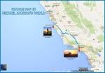 Αμερική, μια ακτογραμμή, 2 παραλίες που τις χωρίζουν περίπου 500 χλμ αλλά στην ίδια ευθεία. Το 1991 ο πατέρας έκανε φωτογράφιση στην ακτή Pebble Beach και η κόρη μας έδωσε τη φωτογραφία από το τοπίο που απολάμβανε 25 χρόνια αργότερα από την παραλία  Venice Beach