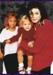 ο Μάικλ Τζάκσον με τα παιδιά της Λίζα Μαρί
