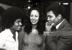 Michael Jackson Muhammad Ali 1977