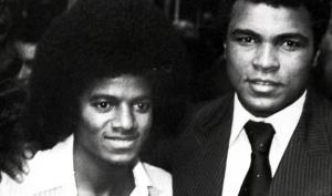 Michael Jackson Muhammad Ali 2