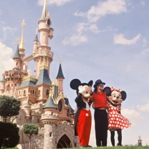 MJ Disneyland 1991