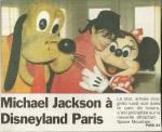 MJ Disneyland Paris journal