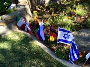 Η ελληνική σημαία στη φάρμα του Μάικλ Τζάκσον (Νέβερλαντ)