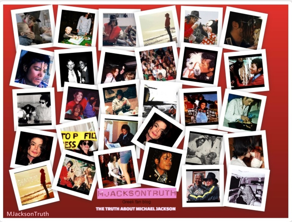 Michael Jackson collage MJacksonTruth