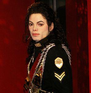 Michael Jackson wax statue Berlin 2008