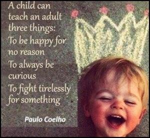 Paulo Coelho on children