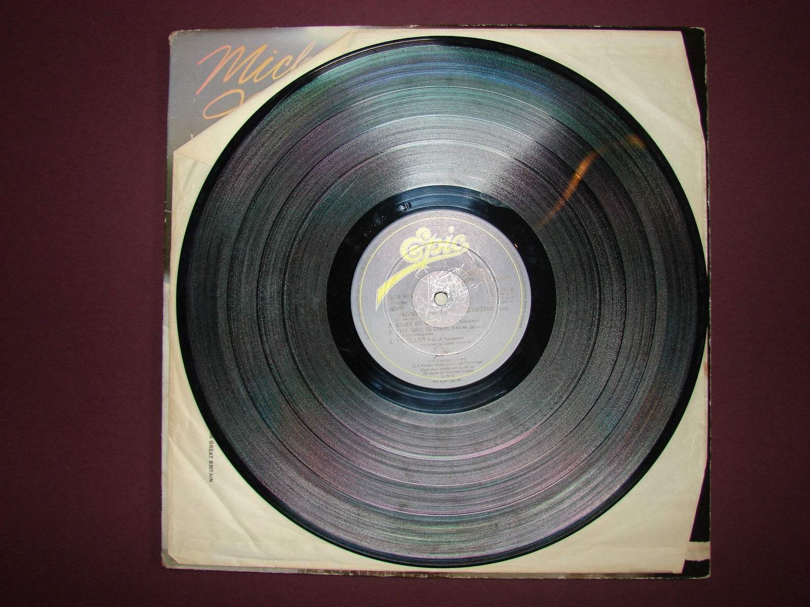 Michael Jackson Thriller Gatefold Lp Vinyl Record 1982 57