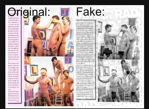 Μαύρη μέρα για τη δημοσιογραφία και τα μμε. Ταμπλόιντ κυκλοφόρησε πλαστές φωτογραφίες που παρουσιάστηκαν ως υλικό παιδικής πορνογραφίας και είπαν ψέματα ότι ανήκε στον Μάικλ Τζάκσον. Αργότερα αποκαλύφθηκε η αλήθεια, καθώς και οι γνήσιες φωτογραφίες.  Την αληθινή είδηση τη μετέδωσαν ελάχιστα μμε, μεταξύ των οποίων και το huffington post. Τα ελληνικά μμε επίσης συμμετείχαν και δεν έβαλαν αντίστοιχα πομπώδεις τίτλους αποκατάστασης της αλήθειας υπέρ του Τζάκσον ούτε ζήτησαν συγγνώμη από την οικογένεια και τους θαυμαστές