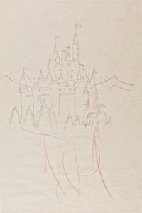 cinderella-castle-drawing-by-michael-jackson