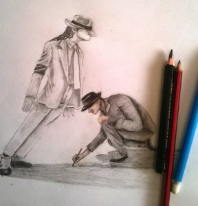 drawing-michael-jackson