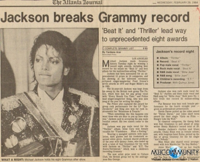 michael-jackson-8-grammys-newspaper